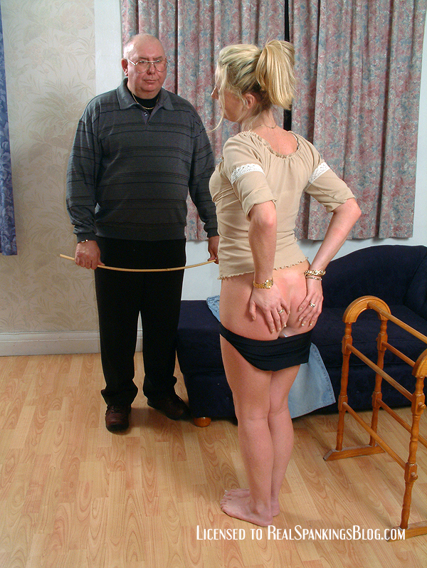 The Irish Au Pair Gets Spanked