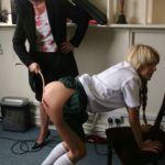 Spanked by a milf