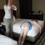 Spanked and strapped at thw tennis club