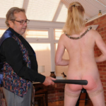 Suzanne Gets A Naked Strapping