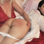 Bare Bottom Bedtime Spankings