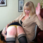 IVY GETS HER FIRST SPANKING