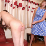 NAKED CANING FOR ISABELLA