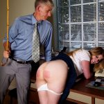 Harley's schoolgirl punishment caning experience